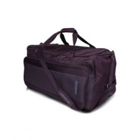 American Tourister Duffle Bagaegis Plus Wheel 55Cm ���Purple