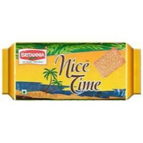 Britannia Nice Time Biscuit- 73 Gms(Pack Of 6) - 5Packs