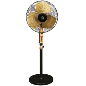 Crompton Sdx Black Gold 3 Blades Black Gold Pedestal Fan