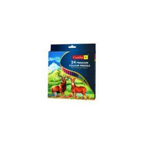 Camlin Premium Colour Pencil -24 Hx 4194524 - 5 Packs