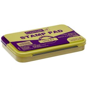 Camlin Stamp Pad-Small Size, Violet Color - 20 Pcs