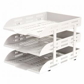 Deli Document Tray 2 Drawers (Grey) - W9209 - 1 Pc