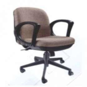 Executive  Chair Afc-208  Nylon  Pp  Swivel Tilt  Pu Arms  Fabric