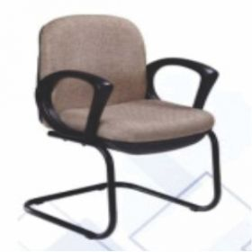 Executive  Chair Afc-209  Nylon  Black Powder Coat  Nil  Pu Arms  Fabric