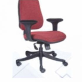 Executive  Chair Afc-317  Nylon  Nylon Base  Synchro Knee Tilt  Pp Cushion Arms  Fabric