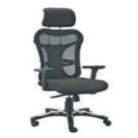 Executive  Chair Afc-225  Nylon  Nylon Base  Synchro Knee Tilt  Pu Adjustable  Seat Fabric And  Black Mesh Support