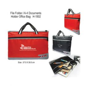 File Folder / A-4 Documents Holder Office Bag (H-1502)