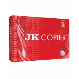 Jk Copier Paper, 75 Gsm, A4, 500 Sheets/Ream - 5 Reams
