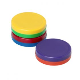 Feather Lite Magnetic Buttons; Dia 30Mm; Assorted,6 Pcs/Pack
