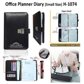 Office Planner Diary (H-1074) - Small Size
