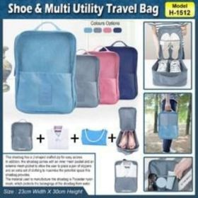 Shoe & Multi Utility Travel Bag (H-1512)