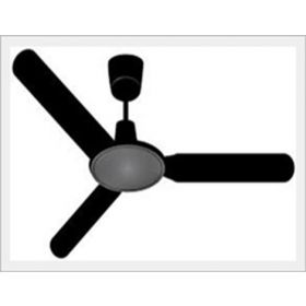 Speedee 750 Ceiling Fan Black