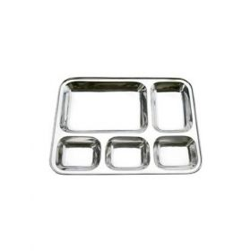 Stainless Steel Plates Small - Pack Of 10