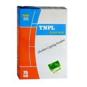Tnpl Copier Paper A4 75Gsm White 500Sheet/Ream-5Packs