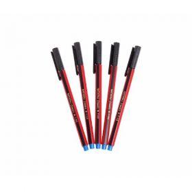 Natraj Use & Throw Ball Pen-Black(Pack Of 20) - 10 Packs