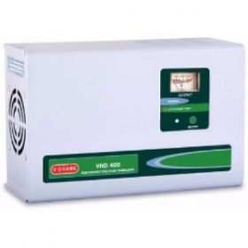 V-Guard Vnd400 Voltage Stabilizer For 1.5 Tonn Ac  (White)