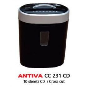 Antiva CC231CD Paper Shredder 10 Sheets