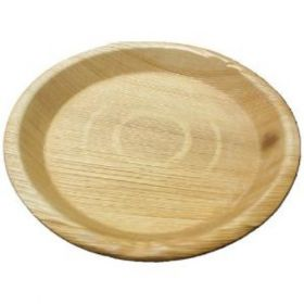"Areca Leaf Round Disposable Plates 10""  - Pack of 100"