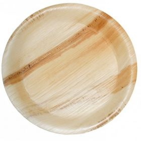 "Areca Leaf Round Disposable Plates 12""  - Pack of 100"