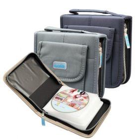 Computer CD Wallet, Zipper (CD040)
