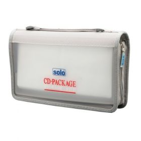 Computer CD Wallet, Zipper (CD096)