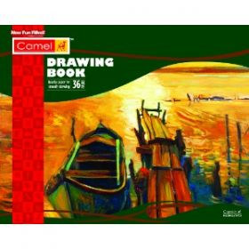 Camel Drawing Book 36 Pages 27.5Cmx34.7Cm 9201003
