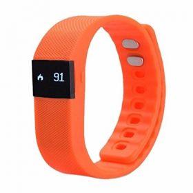 Pebble Smart Fitness Band (Black/Grey/Orange)