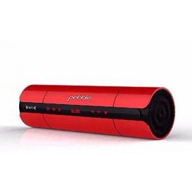 Pebble Bluetooth Speaker (Black/Red)