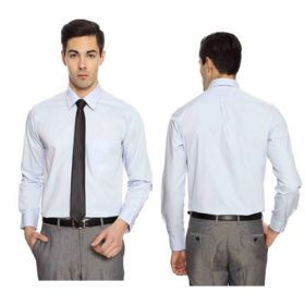 Arrow Men White Premium Cotton Shirts -42cm