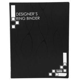 Designers Ring Binder 4D-Ring, (RB434)