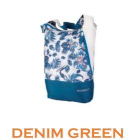 Wildcraft Shopper L Messenger For Women - Denim Green