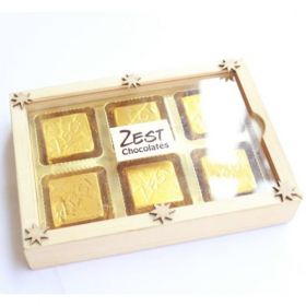 zest chocolates Gift box pack of 6 pcs