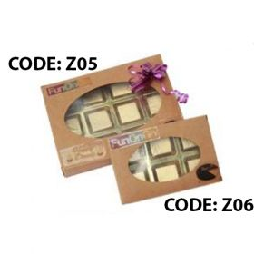 zest chocolates Gift box pack of 6 pcs (Z06)