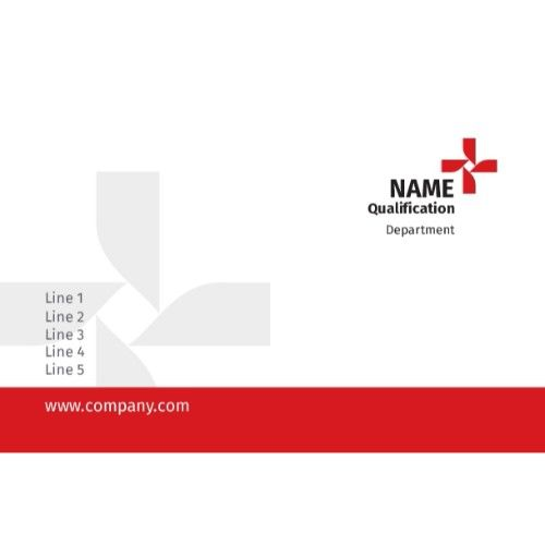 Single Side Premium Plastic Visiting Card  Cards