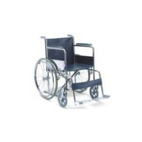 Basic Wheelchair - Chrome