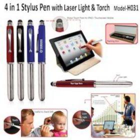 4 In 1 Stylus-Laser Light Pen (H-031)