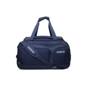 American Tourister Duffle Bag Aegis Core Wheel 55Cm-Blue