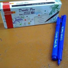 Camlin Doodle Pen, Blue- 9240018 (Pack Of 10) - 10 Packs