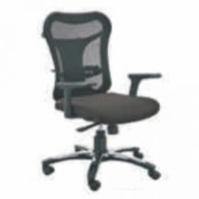 Executive  Chair Afc-226  Nylon  Nylon Base  Synchro Knee Tilt  Pu Adjustable  Seat Fabric And Black Mesh Support
