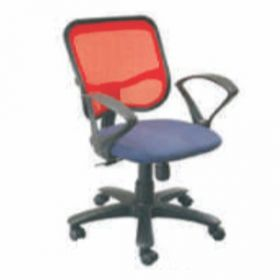 Executive  Chair Afc-227  Nylon  Pp  Push Back  Pp  Seat Fabric And  Black Mesh Support