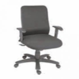 Executive  Chair Afc-239  Nylon  Pp  Synchro Knee Tilt  Pu Adjustable  Seat Fabric And Black Mesh
