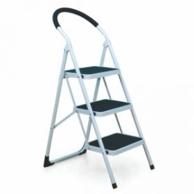 Ladder Ives3Sl Ladder Vesta 3Step Ladder Black White