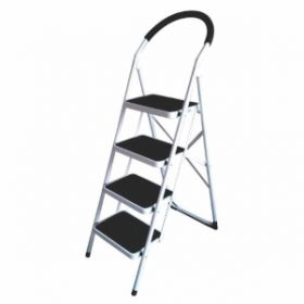 Ladder Ives4Sl Ladder  Vesta 4Step Ladder Black White