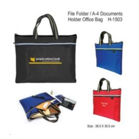 File Folder / A-4 Documents Holder Office Bag (H-1503)