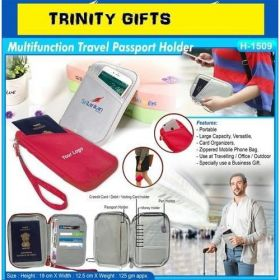 Multifunction Travel Passport Holder (H-1509)