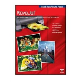 Novajet Photo Glossy Paper 130Gsm Size A4(50 Sheets/Pack) - 5 Packs