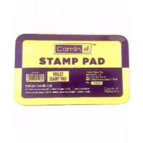 Camlin Stamp Pad No 2, Violet, Medium - 20Pcs