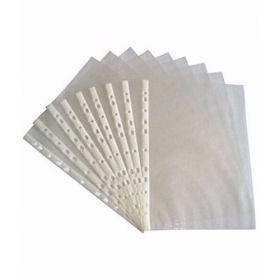 Transparent Polypropylene Sheet Protector, F/S, 100 Pcs/Pk