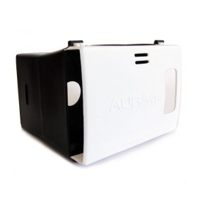 Auravr Plastic Virtual Reality Viewer Headset Inspired From Google Cardboard
