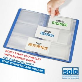 Business Card Holders - 120 cards (BC801), set of 2